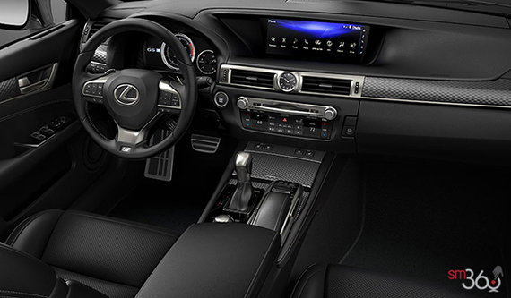 Black F Sport Leather