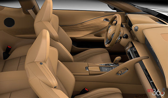 Toasted Caramel Alcantara Leather