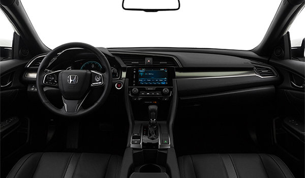 New 2017 Honda Civic hatchback SPORT TOURING at Valleyfield Honda