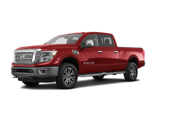 2016 nissan titan xd gas platinum for sale in red deer gord scott nissan. Black Bedroom Furniture Sets. Home Design Ideas