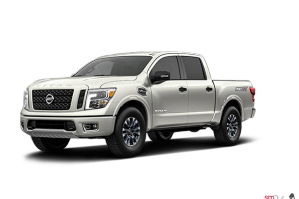 new 2017 nissan titan crew cab pro 4x 4x4 two tone pearl white for sale 17t4012. Black Bedroom Furniture Sets. Home Design Ideas