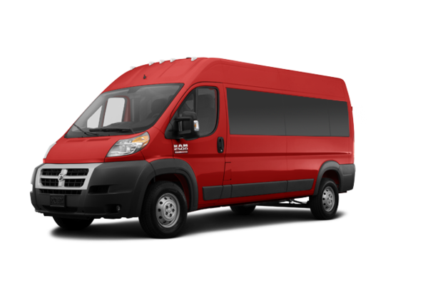 RAM PROMASTER 2500 Fourgon avec glaces 2017