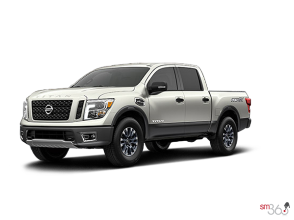 2017 nissan titan pro 4x for sale in burnaby morrey nissan. Black Bedroom Furniture Sets. Home Design Ideas