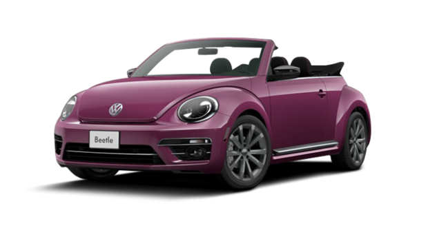 2017 volkswagen beetle convertible pink for sale in nanaimo harbourview vw. Black Bedroom Furniture Sets. Home Design Ideas