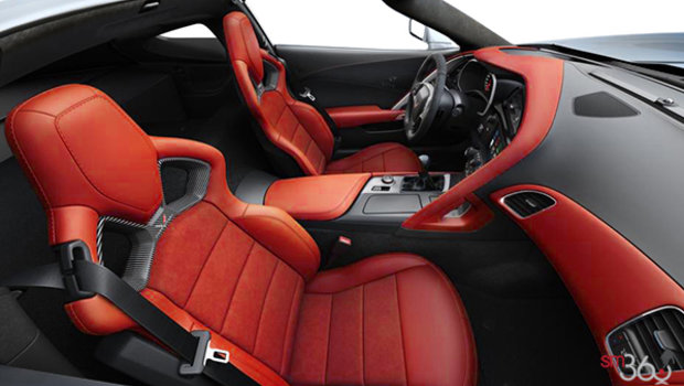 Adrenaline Red Competition Sport buckets Leather seating surfaces with sueded microfiber inserts (704-AE4)