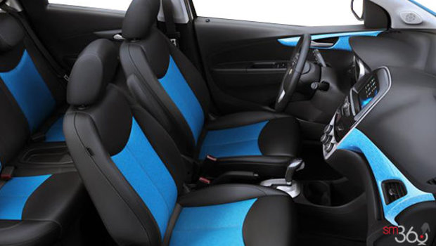 Jet Black/Blue Leatherette