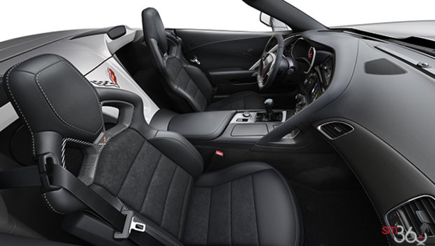 Jet Black Competition Sport buckets Leather seating surfaces with sueded microfiber inserts (194-AE4)