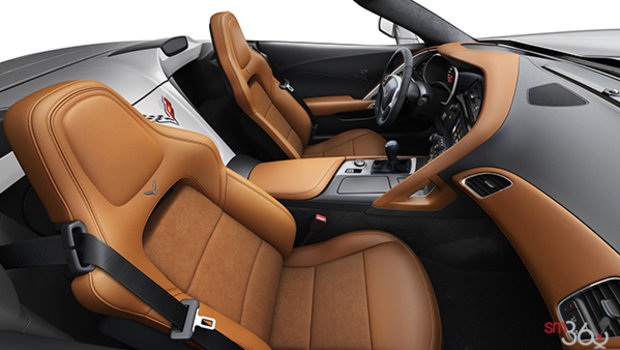 Kalahari GT buckets Leather seating surfaces with sueded microfiber inserts (346-AQ9)