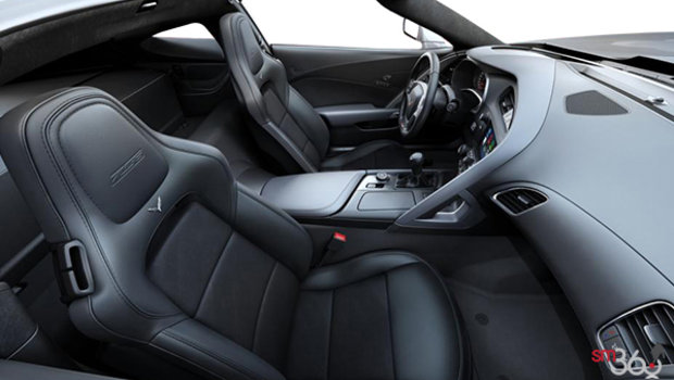 Jet Black GT buckets Leather seating surfaces with sueded microfiber inserts (194-AQ9)