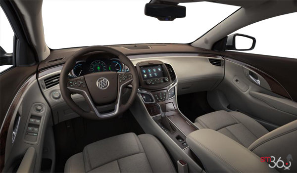 2016 Buick LaCrosse BASE | Photo 3 | Cocoa/Light Neutral Cloth/Leatherette