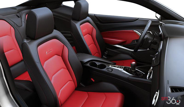 2016 Chevrolet Camaro coupe 2SS | Photo 1 | Adrenaline Red Leather