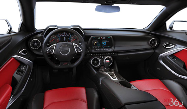 2016 Chevrolet Camaro coupe 2SS | Photo 3 | Adrenaline Red Leather