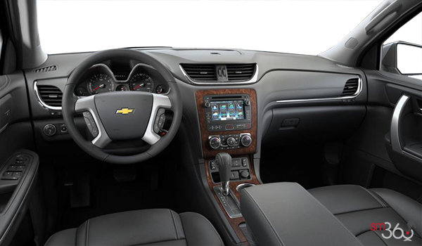 2016 Chevrolet Traverse 2LT | Photo 3 | Ebony Leather