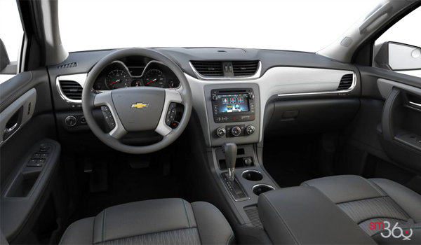 2016 Chevrolet Traverse LS | Photo 3 | Dark Titanium/Light Titanium Premium Cloth