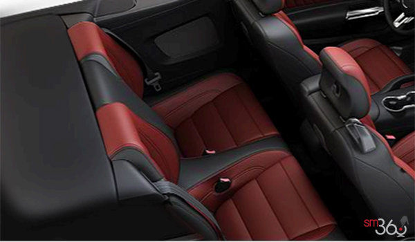 2016 Ford Mustang Convertible EcoBoost Premium | Photo 2 | Red Line Premium Leather