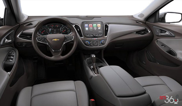 2017 Chevrolet Malibu LT | Photo 3 | Dark Atmosphere/Medium Ash Grey Leather