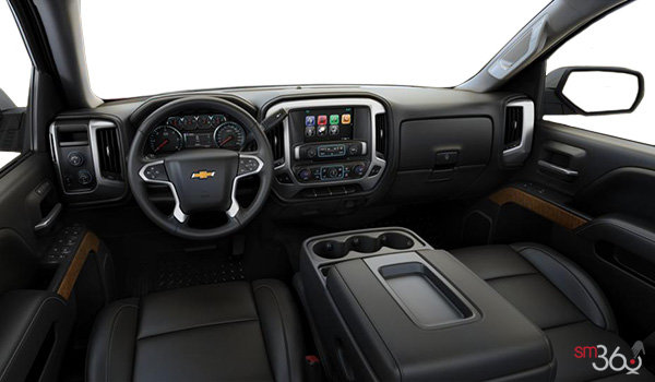 2017 Chevrolet Silverado 1500 LTZ | Photo 3 | Jet Black Leather