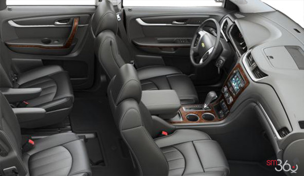 2017 Chevrolet Traverse PREMIER | Photo 1 | Ebony Perforated Leather