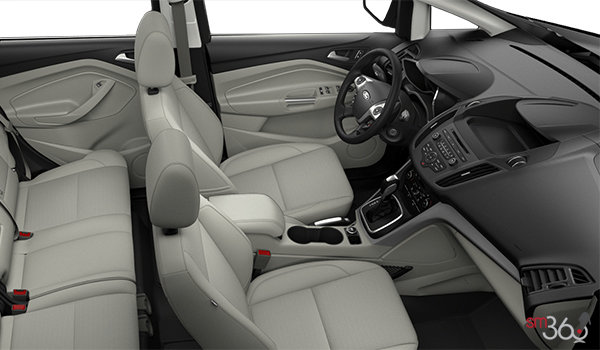 2017 Ford C-MAX HYBRID SE | Photo 1 | Medium Light Stone Cloth