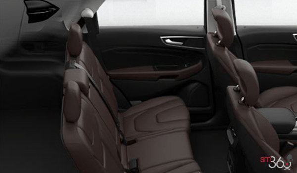2017 Ford Edge TITANIUM | Photo 2 | Cognac Leather with Perforated Inserts