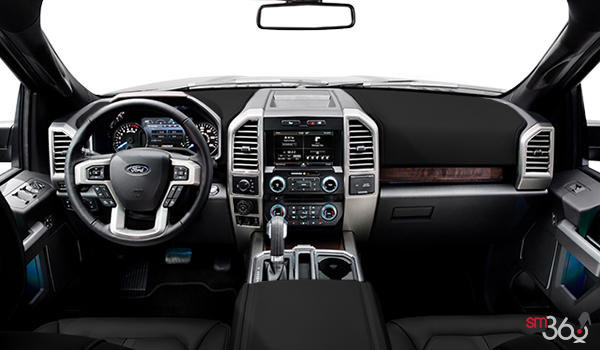 2017 Ford F-150 LARIAT | Photo 3 | Black Leather