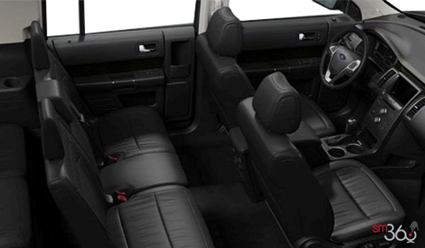 2017 Ford Flex SEL | Photo 1 | Charcoal Black Leather