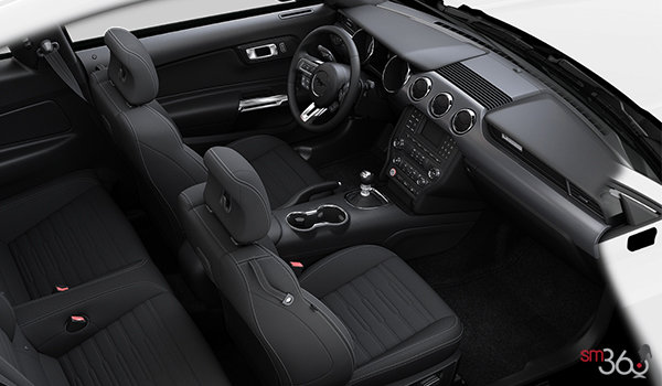 2017 Ford Mustang EcoBoost | Photo 1 | Ebony Cloth
