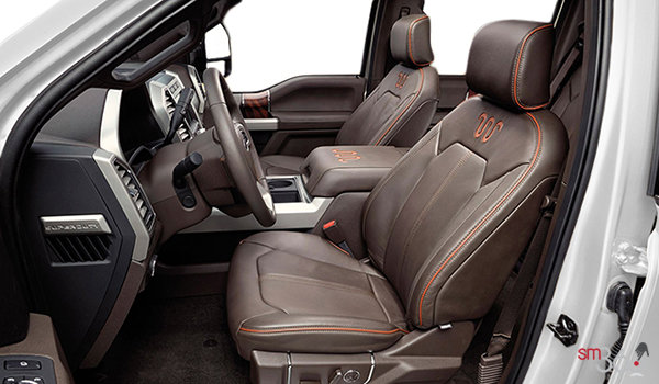 2017 Ford Super Duty F-250 KING RANCH | Photo 1 | Java Mesa Antique Leather
