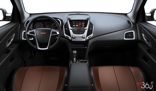 2017 GMC Terrain SLT | Photo 3 | Saddle Perforated Leather