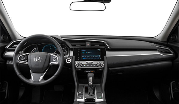 2017 Honda Civic Sedan EX | Photo 3 | Black Fabric