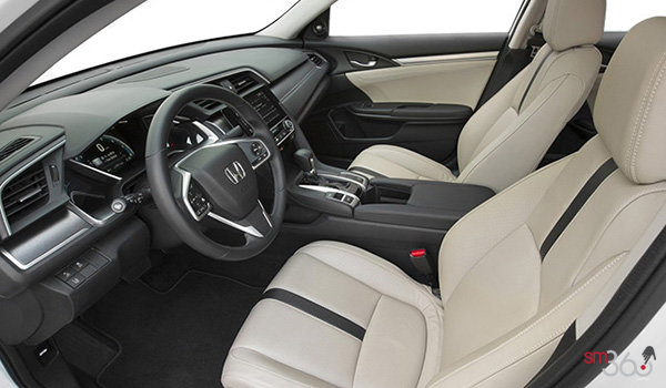 2017 Honda Civic Sedan TOURING | Photo 1 | Ivory Leather