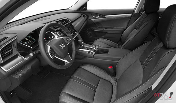 2017 Honda Civic Sedan TOURING | Photo 1 | Black Leather
