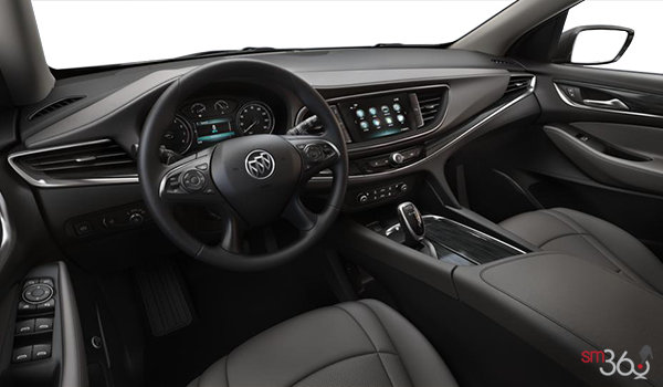2018 Buick Enclave ESSENCE | Photo 3 | Dark Galvanized w/Ebony Accents w/Perforated Leather-Appointed