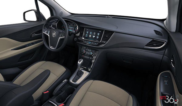 2018 Buick Encore PREFERRED | Photo 3 | Shale/Ebony Cloth & Leatherette