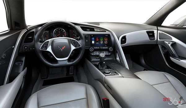 2018 Chevrolet Corvette Convertible Stingray Z51 2LT | Photo 2 | Grey GT buckets Leather seating surfaces with sueded microfiber inserts (144-AQ9)