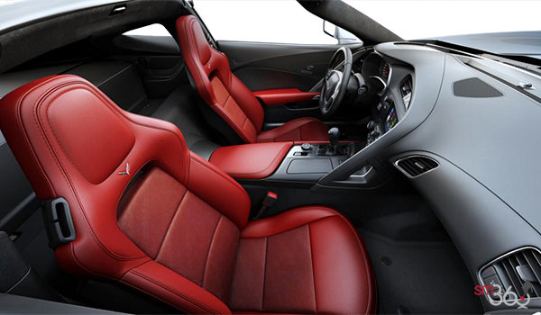 2018 Chevrolet Corvette Coupe Grand Sport 2LT | Photo 1 | Adrenaline Red GT buckets Leather seating surfaces with sueded microfiber inserts (704-AQ9)