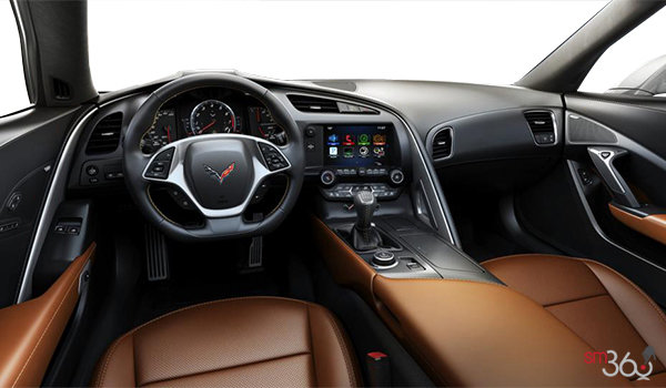 2018 Chevrolet Corvette Coupe Grand Sport 2LT | Photo 3 | Kalahari GT buckets Perforated Mulan leather seating surfaces (343-AQ9)