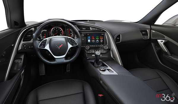 2018 Chevrolet Corvette Coupe Grand Sport 3LT | Photo 3 | Jet Black Competition Sport buckets Perforated Mulan leather seating surfaces (195-AE4)