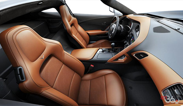 2018 Chevrolet Corvette Coupe Grand Sport 3LT | Photo 1 | Kalahari GT buckets Leather seating surfaces with sueded microfiber inserts (346-AQ9)