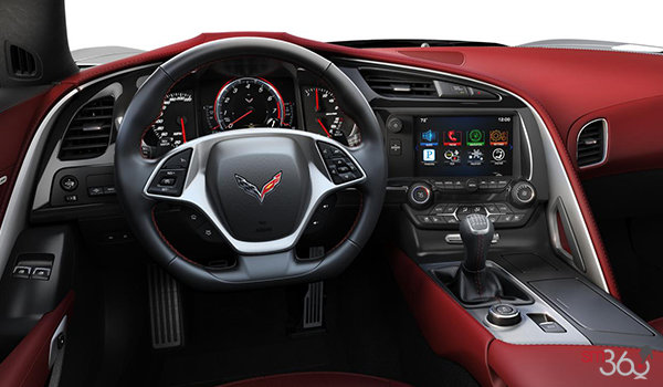 2018 Chevrolet Corvette Coupe Grand Sport 3LT | Photo 2 | Spice Red GT buckets Perforated Napa leather seating surfaces (755-AQ9)