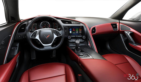 2018 Chevrolet Corvette Coupe Grand Sport 3LT | Photo 3 | Adrenaline Red GT buckets Perforated Napa leather seating surfaces (705-AQ9)