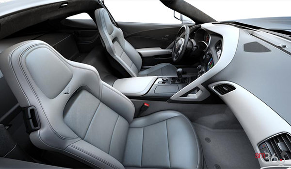 2018 Chevrolet Corvette Coupe Stingray Z51 3LT | Photo 1 | Grey GT buckets Leather seating surfaces with sueded microfiber inserts (146-AQ9)