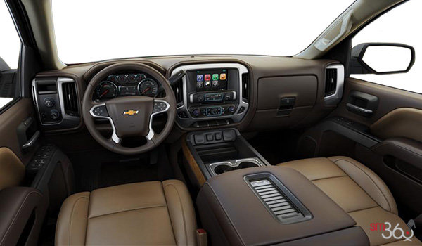 2018 Chevrolet Silverado 1500 LTZ 2LZ | Photo 3 | Cocoa/Dune Bucket seats Leather (AN3-H0K)