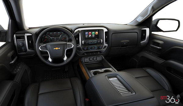 2018 Chevrolet Silverado 1500 LTZ 2LZ | Photo 3 | Jet Black Bucket seats Leather (AN3-H2U)