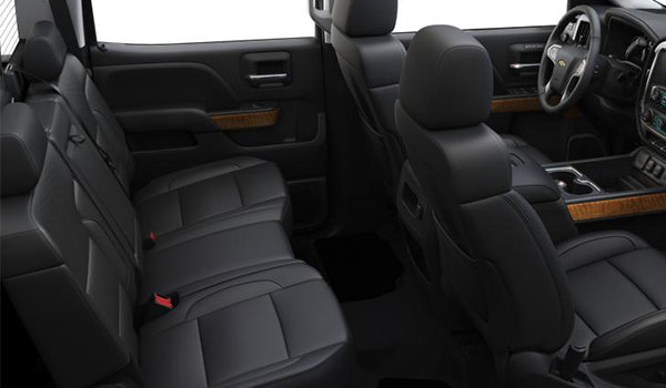 2018 Chevrolet Silverado 3500 HD LTZ | Photo 2 | Jet Black Perforated Leather Bucket Seats (H3B-AN3)
