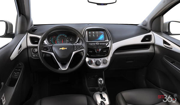 2018 Chevrolet Spark 2LT | Photo 3 | Jet Black/White Leatherette
