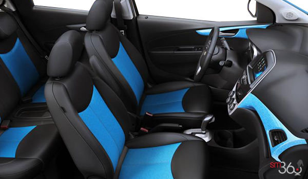 2018 Chevrolet Spark 2LT | Photo 1 | Jet Black/Blue Leatherette
