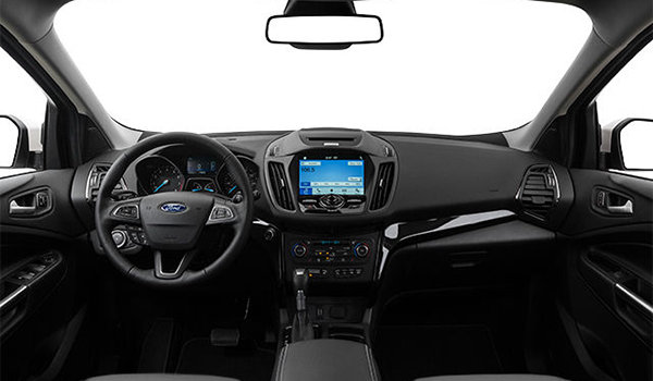 2018 Ford Escape TITANIUM | Photo 3 | Charcoal Black Groove/Salerno Partial Leather