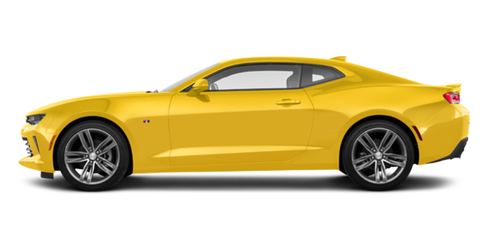 2016 Chevrolet Camaro coupe 1LT | Photo 4 | Bright Yellow