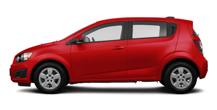 2016 Chevrolet Sonic Hatchback LS | Photo 4 | Red Hot
